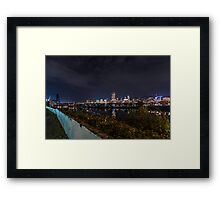 Portland Night View Framed Print