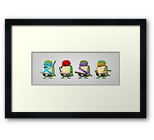 Turtles in Disguise Framed Print