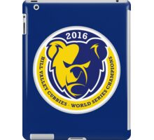 Hill Valley Cubbies - 2016 Champs iPad Case/Skin