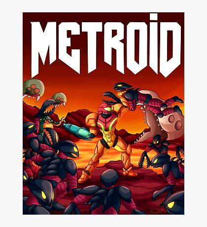Metroid Doom Photographic Print