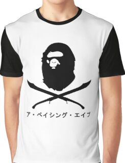 Bape x Pirate Graphic T-Shirt