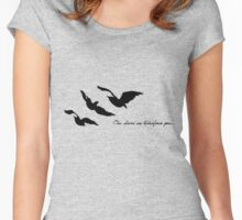 Divergent - One Choice Ravens Tattoo Women's Fitted Scoop T-Shirt