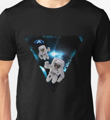Puppies Lost in Space Unisex T-Shirt