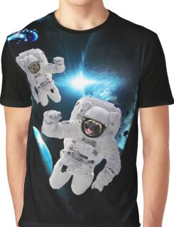 Puppies Lost in Space Graphic T-Shirt