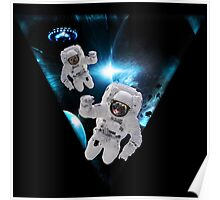 Puppies Lost in Space Poster