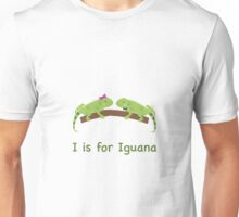 I is for Iguana Unisex T-Shirt