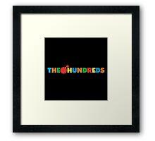 The Hundreds Framed Print