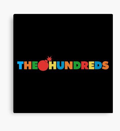 The Hundreds Canvas Print