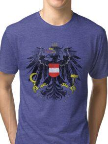 Austrian Coat of Arms Austria Symbol Tri-blend T-Shirt