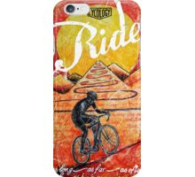Ride...until the sun sets iPhone Case/Skin