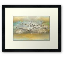 The birdy tree ... Framed Print