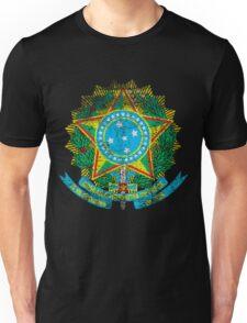 Brazilian Coat of Arms Brazil Symbol Unisex T-Shirt