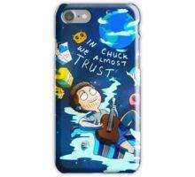 IN CHUCK WE (ALMOST) TRUST iPhone Case/Skin