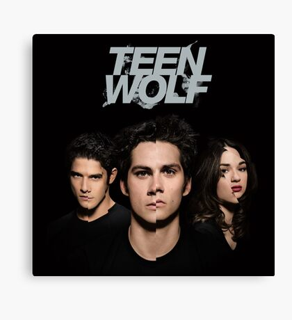 Teen Wolf Cover Canvas Print