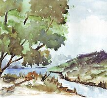 Landscape at Harties by Maree  Clarkson