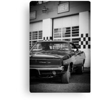 68 Charger B&W Canvas Print