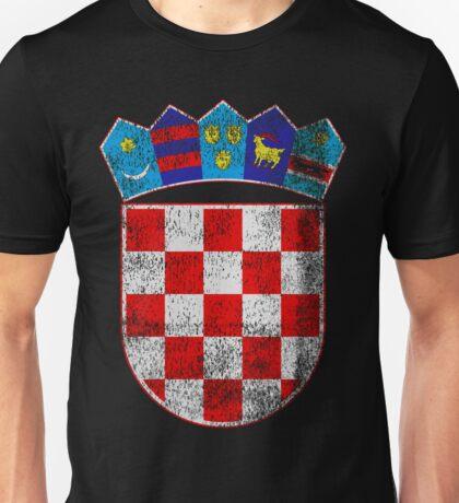 Croatian Coat of Arms Croatia Symbol Unisex T-Shirt