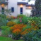 Beautiful Garden At Twilight by kkphoto1