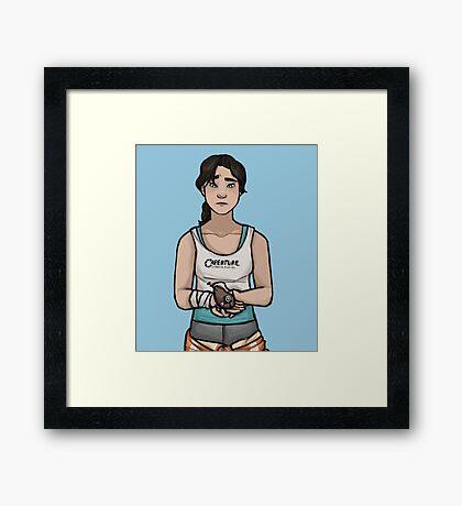 PotaDOS Framed Print
