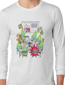 Brain Cell Lab Meeting Long Sleeve T-Shirt