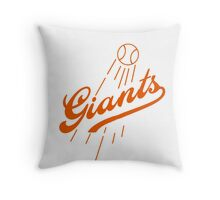Giants Re-Imagined (Dodgers) Throw Pillow