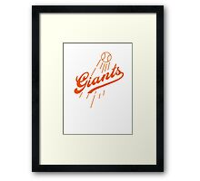 Giants Re-Imagined (Dodgers) Framed Print