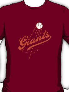 Giants Re-Imagined (Dodgers) T-Shirt