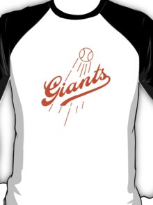 Giants Re-Imagined (Dodgers) T-Shirt