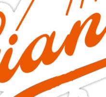 Giants Re-Imagined (Dodgers) Sticker