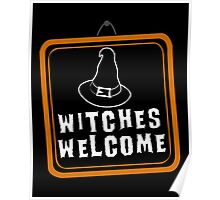 Witches Welcome Poster