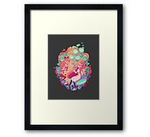 Babes with Brains Framed Print
