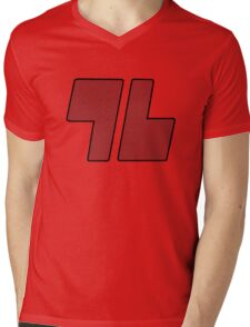 Trainer Red 96 Shirt Mens V-Neck T-Shirt