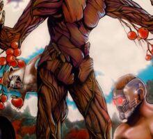 "Guardians Of Eden or ""Guarden"" Of Eden Sticker"
