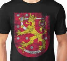 Finish Coat of Arms Finland Symbol Unisex T-Shirt
