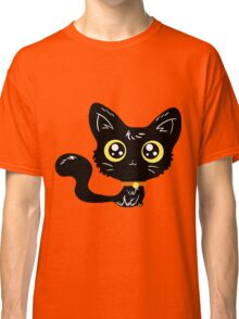 Adorable Black Cat Classic T-Shirt