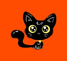 Adorable Black Cat Unisex T-Shirt