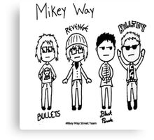 Chibi Mikey Phases Canvas Print