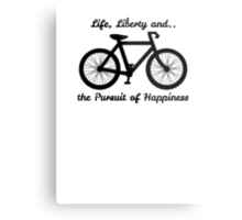 Life, Liberty and the Pursuit of Happiness Metal Print