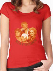 Golden Girls Stay Golden Women's Fitted Scoop T-Shirt
