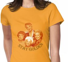 Golden Girls Stay Golden Womens Fitted T-Shirt