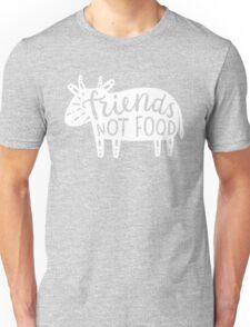 Friends not food!  Unisex T-Shirt