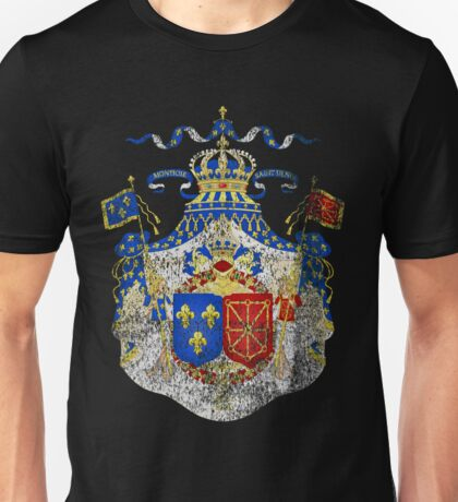 French Coat of Arms France Symbol Unisex T-Shirt