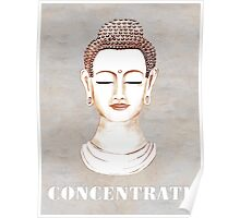 Buddha - Concentrate Poster