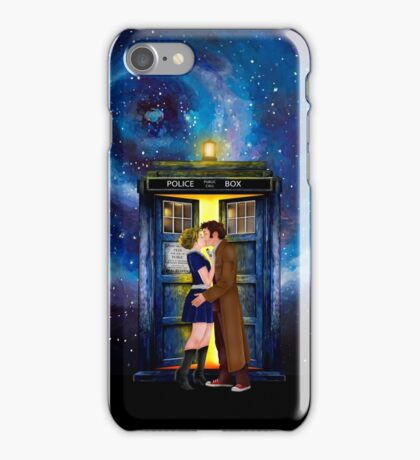 The last kiss from the Doctor iPhone Case/Skin