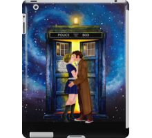 The last kiss from the Doctor iPad Case/Skin