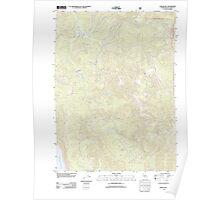USGS TOPO Map California CA Childs Hill 20120217 TM geo Poster