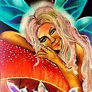 July Playful Goddess by Michelle Potter