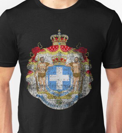 Greek Coat of Arms Greece Symbol Unisex T-Shirt