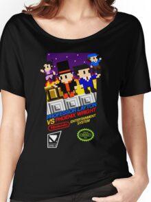 Professor Layton VS Phoenix Wright NES Women's Relaxed Fit T-Shirt