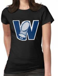 Fly The W - World Series Womens Fitted T-Shirt